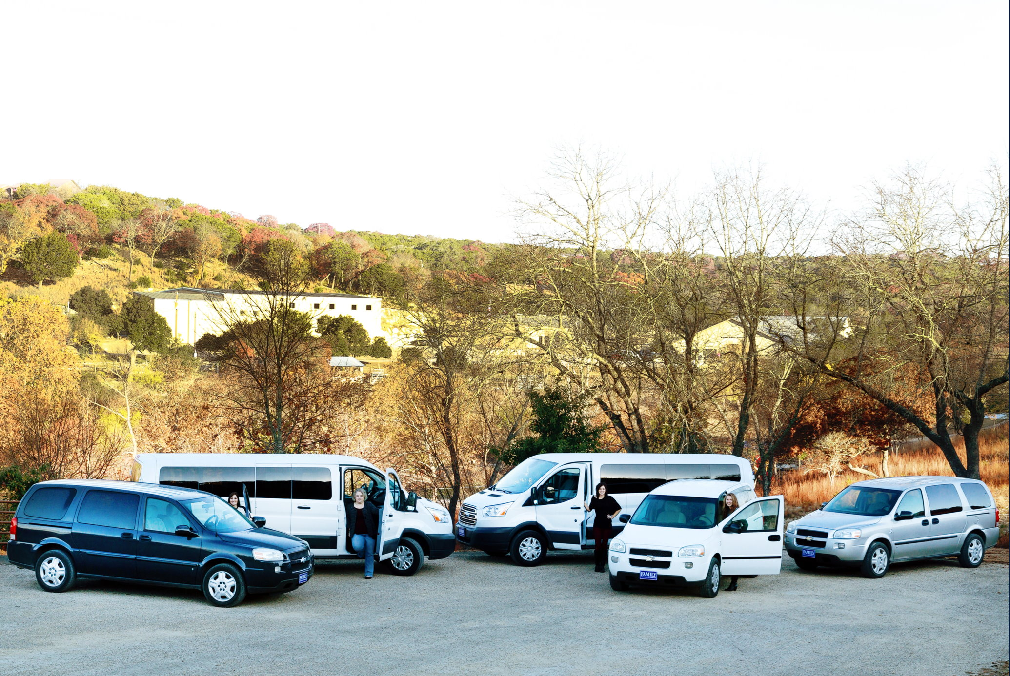 2015- Hill Country Youth Ranch vehicle fleet upgrade, Ingram, Texas.