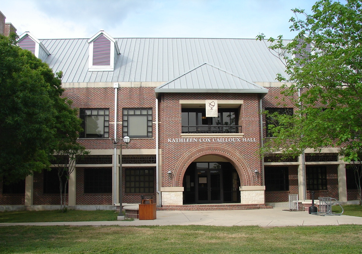 2010- Kathleen Cox Cailloux Hall at Schreiner University, Kerrville, Texas.