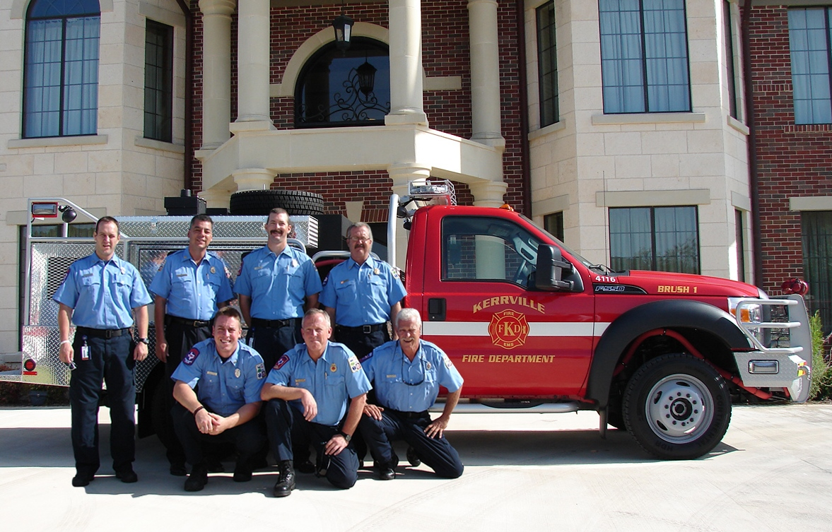 2010- Kerrville Fire Department brush truck, Kerrville, Texas.